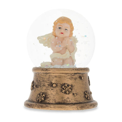 Praying Angel Miniature Snow Globe by BestPysanky