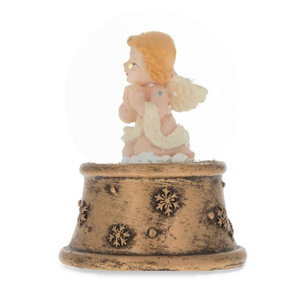 Buy Online Gift Shop Praying Angel Miniature Snow Globe