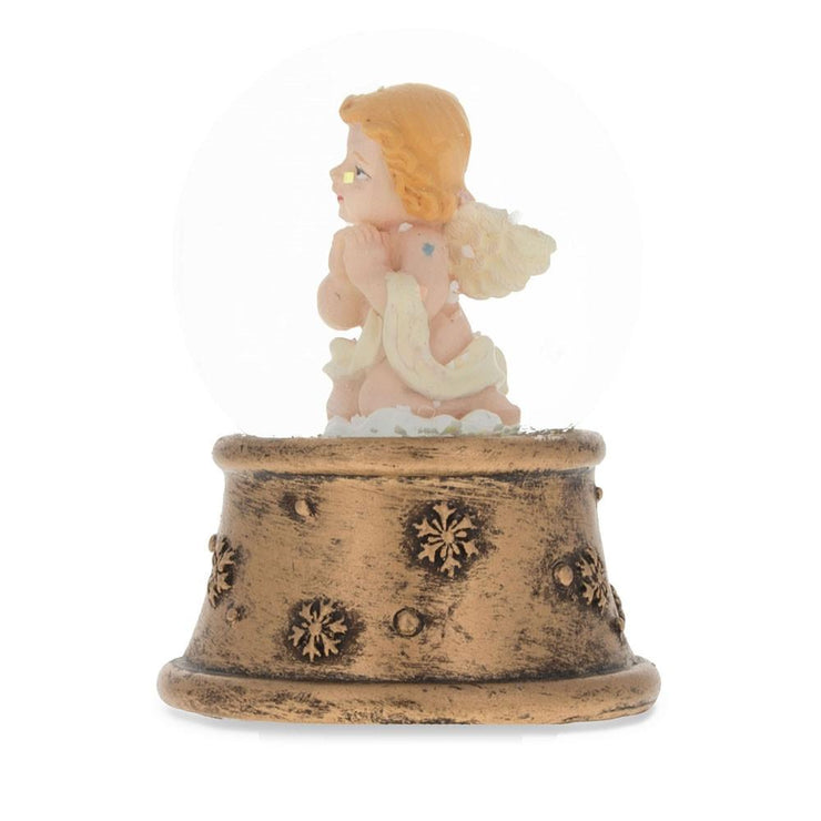 Buy Online Gift Shop Praying Angel Mini Water Snow Globe