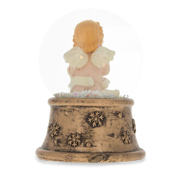 Praying Angel Miniature Snow Globe