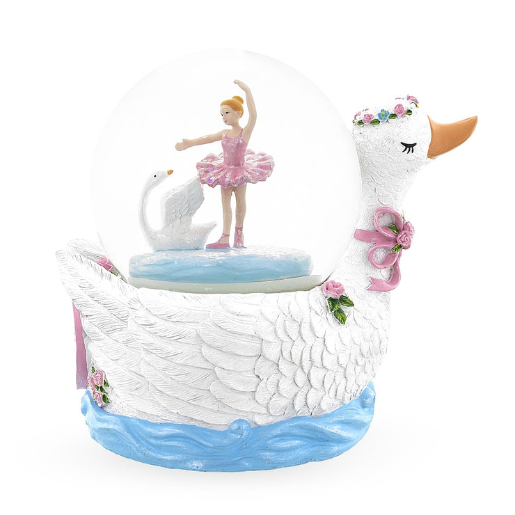 Swan Lake Ballet Musical Water Snow Globe by BestPysanky