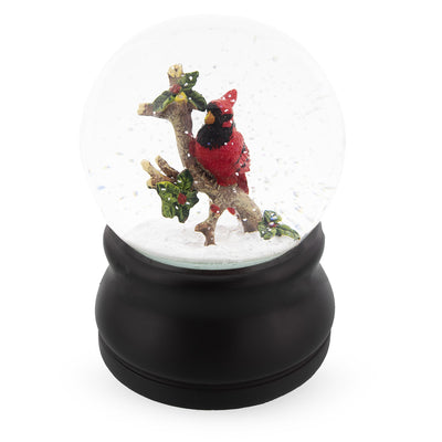 Red Cardinal Musical Water Snow Globe by BestPysanky