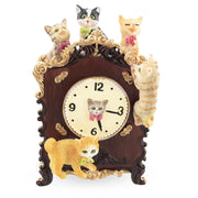 Cats Playing on the Clock Animated Music Box by BestPysanky