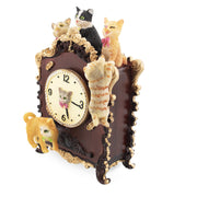 Cats Playing on the Clock Animated Music Box