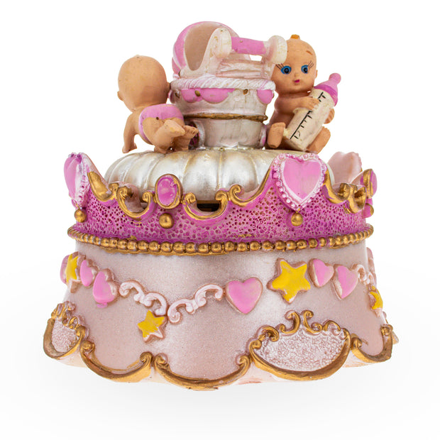 Babies around Spinning Musical Figurine by BestPysanky