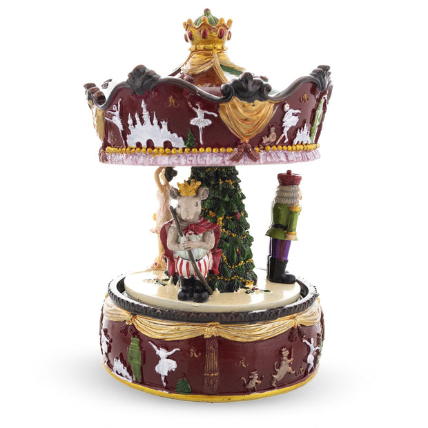 Buy Online Gift Shop Musical Rotating Carousel with Ballerina and Nutcracker