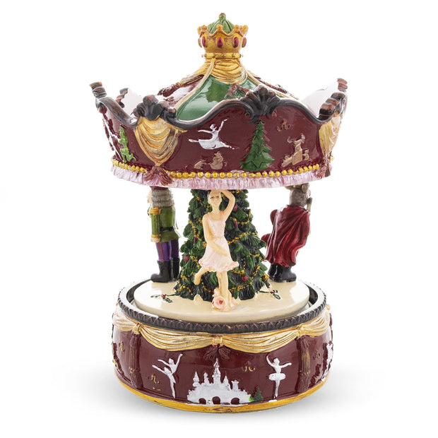 Musical Rotating Carousel with Ballerina and Nutcracker by BestPysanky