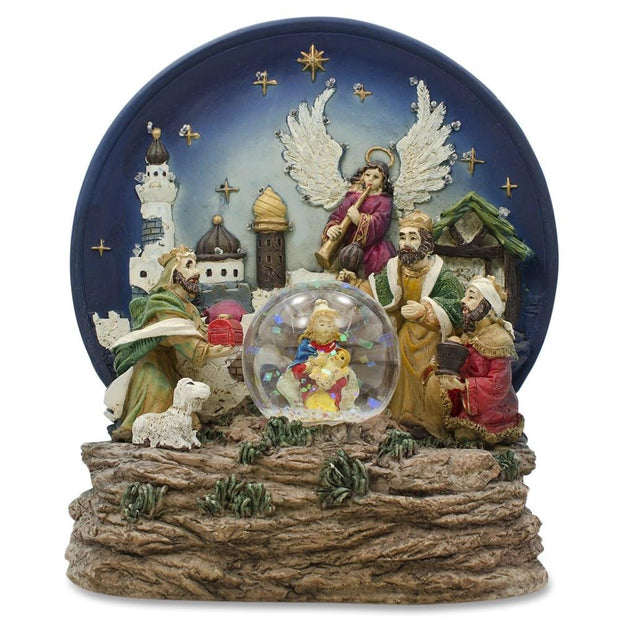 Buy Figurines & Decor > Snow Globes > Nativity Snow Globes by BestPysanky