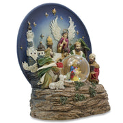 Buy Online Gift Shop Animated Nativity Scene Musical Snow Globe