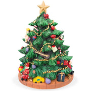 Buy Online Gift Shop Spinning Musical Tabletop Christmas Tree Figurine