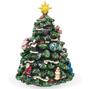 Buy Online Gift Shop Rotating Tabletop Christmas Tree with Music Box