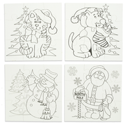 Set of 12 Blank Christmas Puzzles by BestPysanky