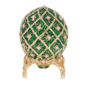 1907 Rose Trellis Royal Russian Egg 3.25 Inches by BestPysanky