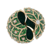 Buy Online Gift Shop 1907 Rose Trellis Royal Russian Egg 3.25 Inches