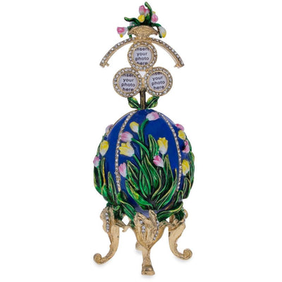 1898 Lilies of the Valley Royal Russian Egg 4.75 Inches by BestPysanky