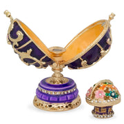 Buy Online Gift Shop 1899-1903 Spring Flowers Royal Russian Egg 3.4 Inches