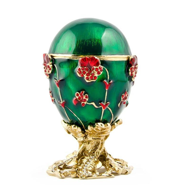 1899 Pansy Russian Royal Russian Egg 2.5 Inches by BestPysanky