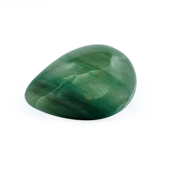 BestPysanky Easter Eggs > Stone Eggs - Green Aventurine Stone Egg with Wooden Stand
