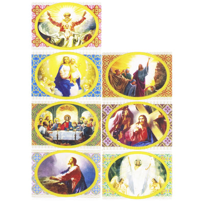 7 Jesus Life Stories Easter Egg Decorating Wraps by BestPysanky