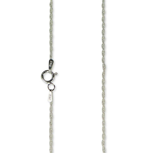 "BestPysanky Jewelry > Chains - 18"" 1.5mm Sterling Silver Italian Box Chain"