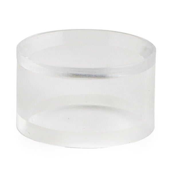 "BestPysanky Egg Decorating > Stands > Plastic - 1"" x 1.75"" Circle Clear Plastic Egg Stand Display Holder"