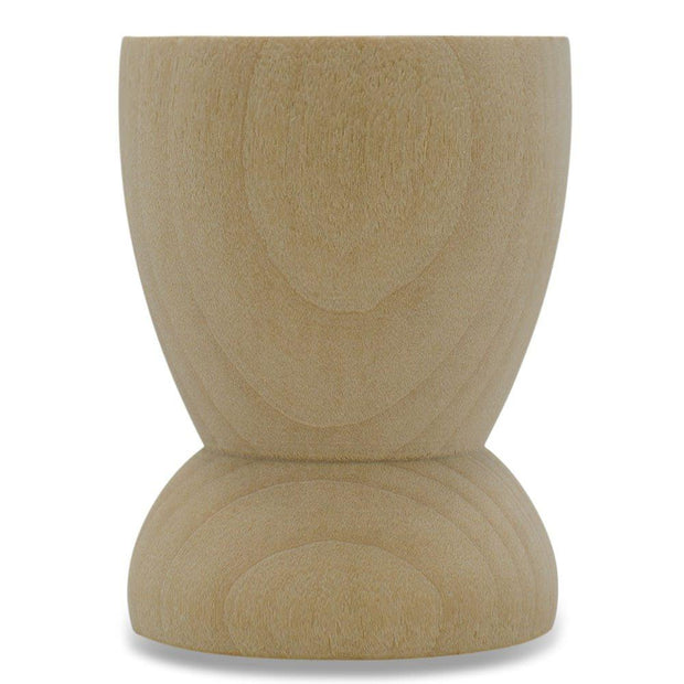 "BestPysanky Egg Decorating > Stands > Wooden - 2.15"" Classic Wooden Egg Cup Holder Display Stand"