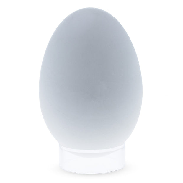 Round Clear Plastic Egg Stand Holder 0.4 Inches Tall