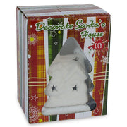 Buy Online Gift Shop Paint your Own White Unfinished Santa House DIY Craft Kit
