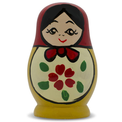 Wooden Russian Nesting Doll Fridge Magnet by BestPysanky