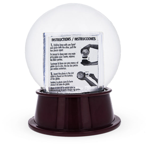 Buy Online Gift Shop Chicago Clear Plastic Snow Water Globe Picture Frame