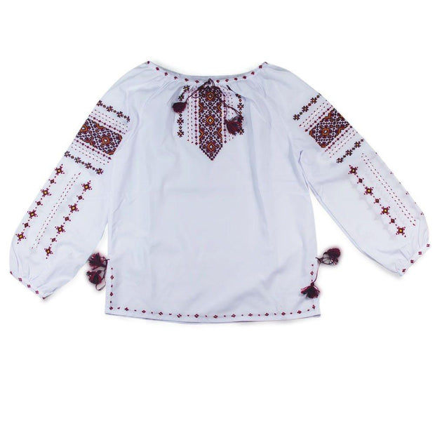 Ukrainian Hand Embroidered Girl's Blouse by BestPysanky