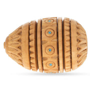 Buy Online Gift Shop Hand Carved Inlaid Wooden Egg