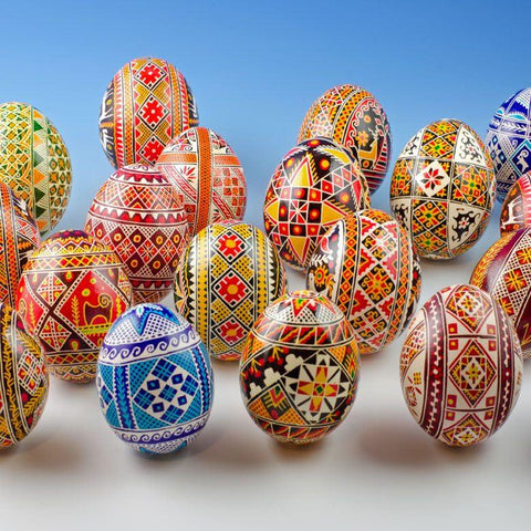 Real Ukrainian Easter Egg in Assortment | BestPysanky