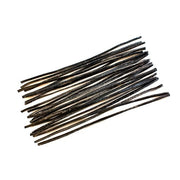 Set of 24 Pieces of Black Beeswax Strips 6 Inches by BestPysanky