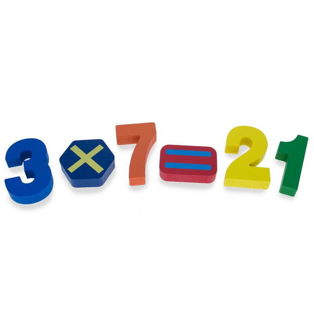 Buy Online Gift Shop Numbers & Counting Learning Wooden Blocks Puzzle