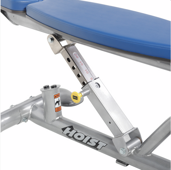HOIST Commercial Freeweight CF-3162 Adjustable Flat-Decline Bench