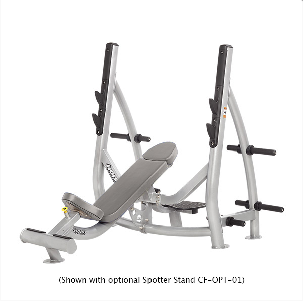 HOIST Commercial Freeweight CF-3172 Incline Olympic Bench