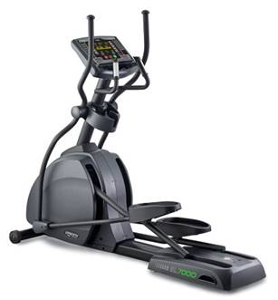 "EL7000e-G1/ ELLIPTICAL - FULL COMMERCIAL, 16"" TOUCH, FRONT DRIVE"