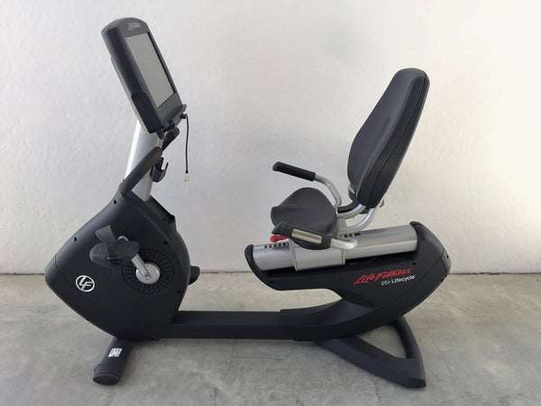 Life Fitness 95R Engage Lifecycle Recumbent Bike (Refurbished)