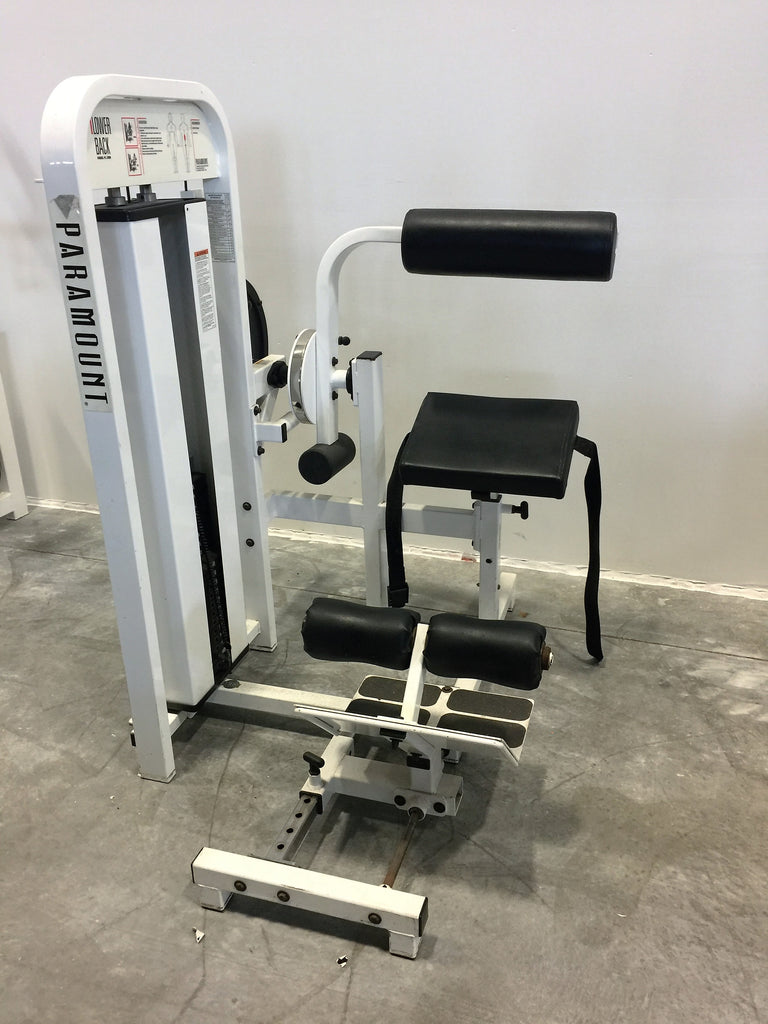 Paramount Lower Back Weight Machine (Used)