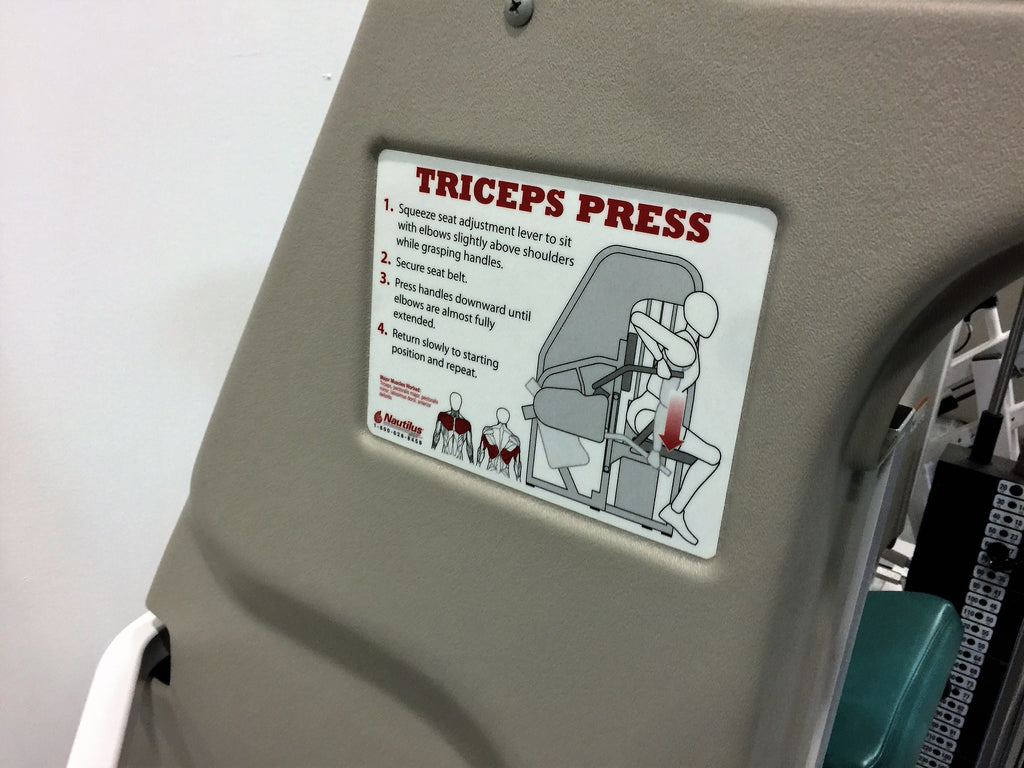 Nautilus Triceps Press (Used)