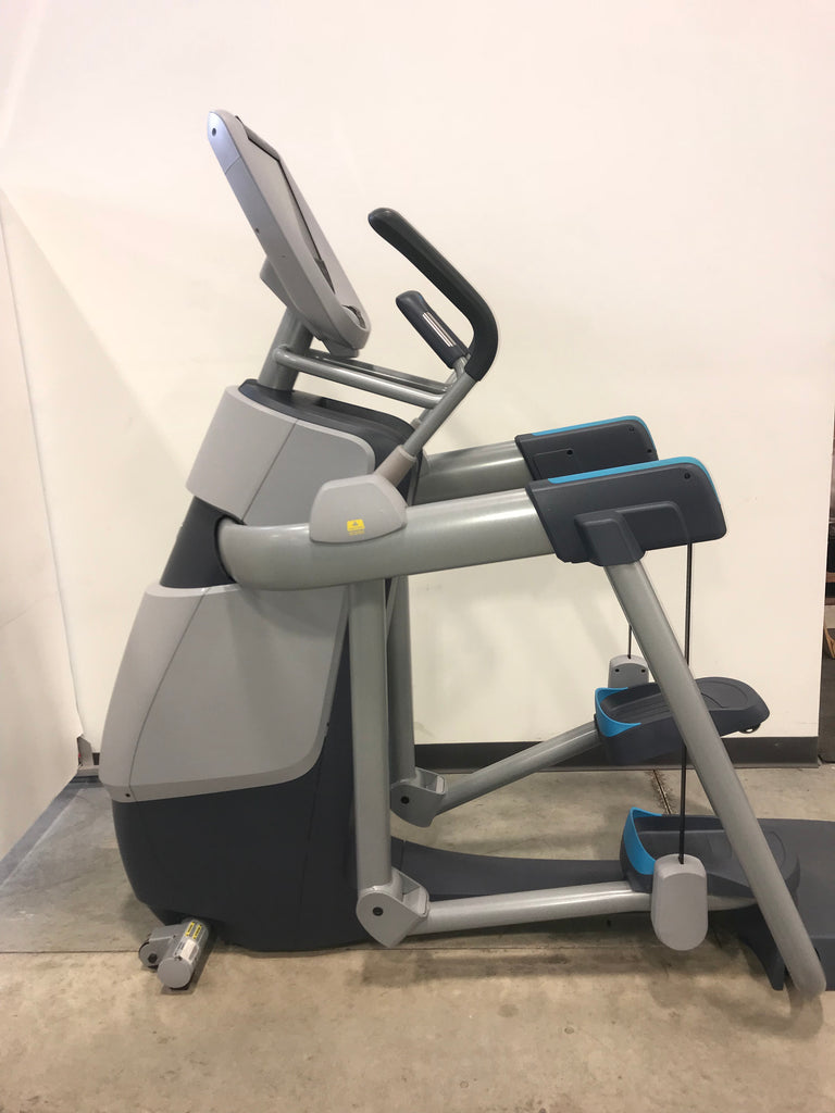 Precor 885 Open Stride AMT w P80 USED