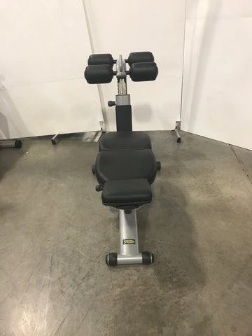 TechnoGym Adjustable Ab Bench (USED)