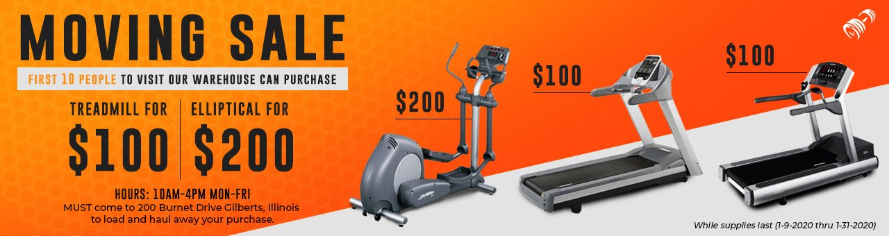 WIDE SELECTION OF FITNESS EQUIPMENT Large Selection of New, Used and Close-Out Exercise Equipment