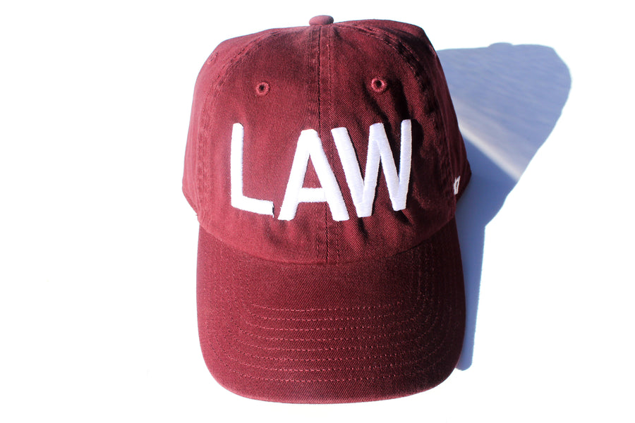 Burgundy LAW Dad Cap