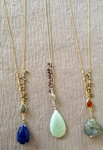 Hallies Comet necklaces