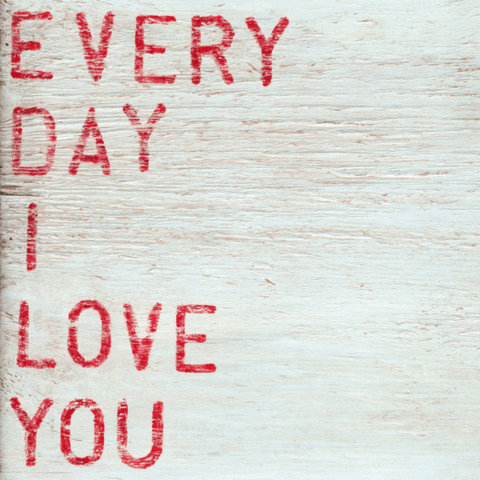 Sugarboo Designs Every Day I Love You Art Print