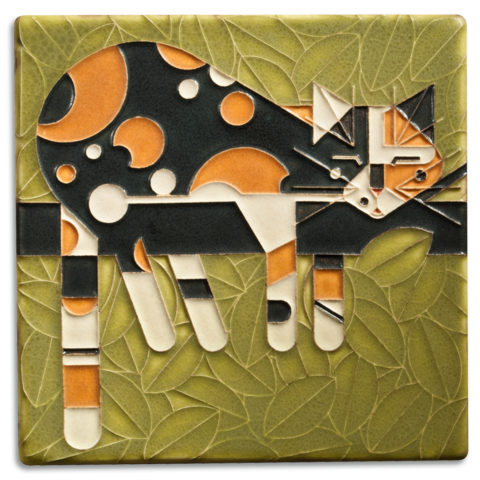 Motawi Limp on a Limb Charley Harper Tile