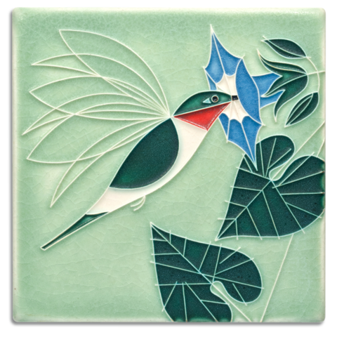 Motawi Little Sipper Charley Harper Tile