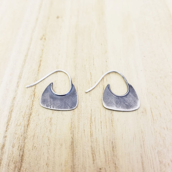 Quarter Round Earrings by Rarefy Studio